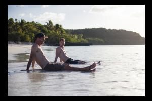 Lifou beach guys